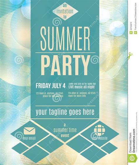 summer flyer template terri torigram sites