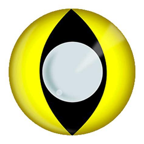 yellow animal contact lenses spfx