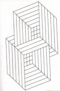 free coloring pages of 3d illusions