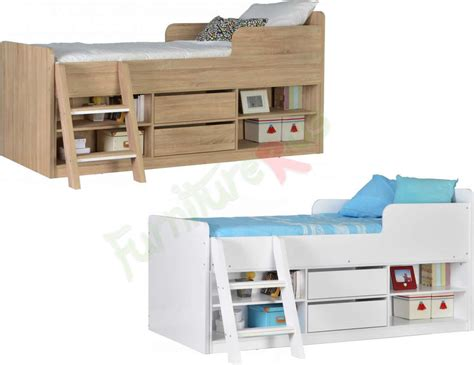 Small Mid Sleeper Bed by Cabin Bed Mid Sleeper Bed Choice Of Colours Felix