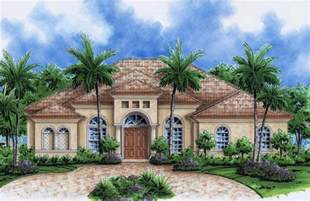 Home Design Florida by Florida Style Plans Mediterranean Home Designs