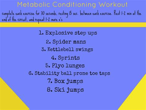 metabolic conditioning workouts kumpf