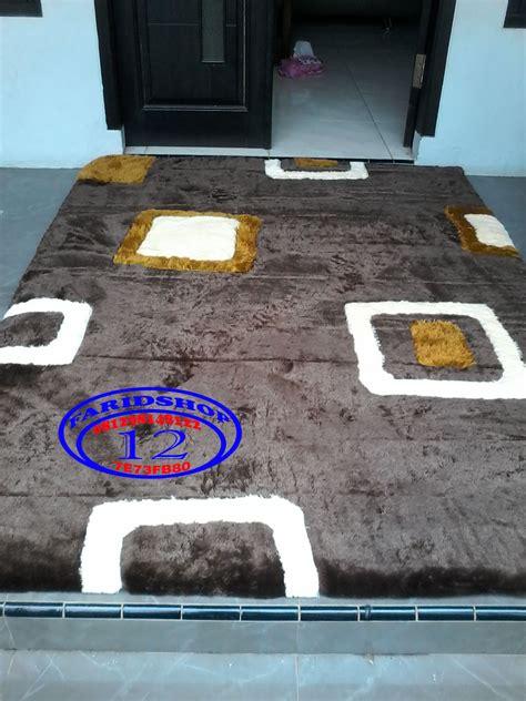 Karpet Bulu Motif jual karpet motif minimalis karpet bulu rasfur matras