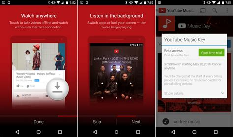 utube apk key beta now live includes offline and background playback droid