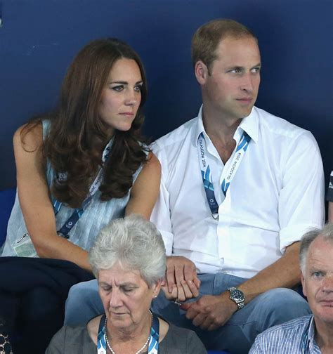 william and kate prince william and catherine are affectionate at