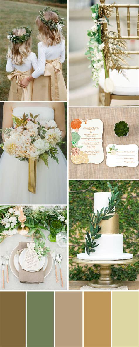 2017 wedding trend organic olive wedding