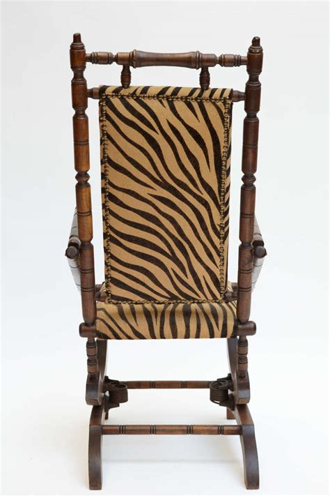 Rocking Chair Footstool by Napoleon Iii Rocking Chair With Footstool For Sale