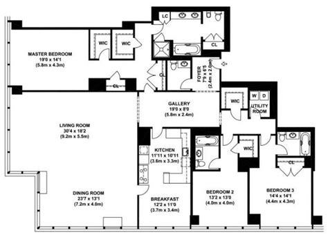 luxury condominium floor plans 226 best images about penthouse on pinterest nyc