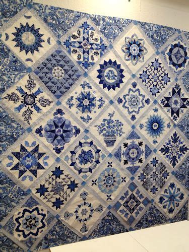 blue quilt wallpaper happy appliquer quilt studio pinterest antiquit 228 ten