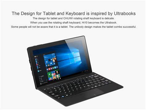 Tablet Windows Chuwi Hi10 Ultrabook 64gb Ram 4gb 10 1 Inch kilimall 10 1 inch chuwi hi10 windows 10 android 5 1 ultrabook tablet pc 1 44ghz