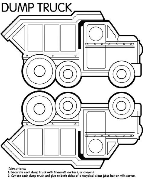 printable coloring pages dump truck dump truck box coloring page because i have a client