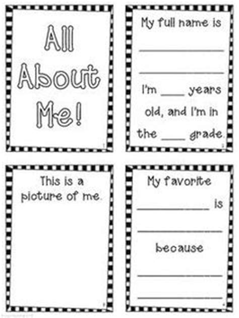 all about me book template 1000 images about free printables on sundial