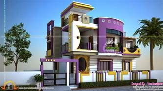 Exterior Designs In Contemporary Style Kerala Home Design Kerala Home Design Ground Floor
