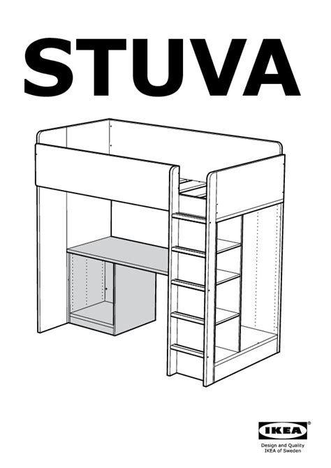 loft bed and desk stuva loft bed with 2 shelves 2 doors white yellow ikea