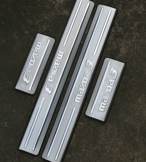 Door Sill Plate Livina With L Stainless mazda threshold goods catalog chinaprices net