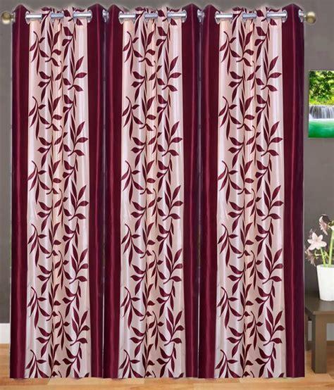 decorative door curtains azaan decor set of 3 door eyelet curtain buy azaan decor