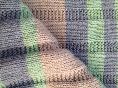 easy knitted baby blanket simple striped baby blanket free pattern alaska knit nat