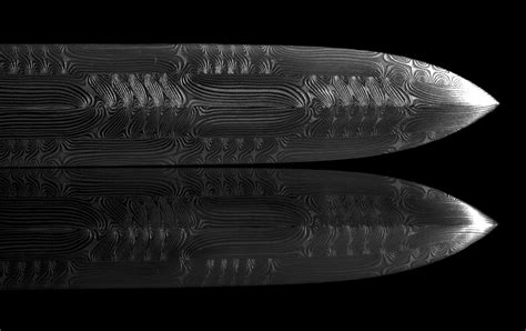 saxon pattern welding stunningly beautiful modern pattern welded blade made by