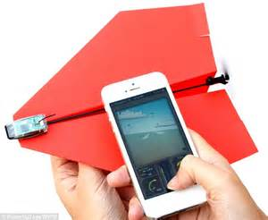 How To Make Paper Gadgets - a 21st century paper plane 163 30 gadget transforms your