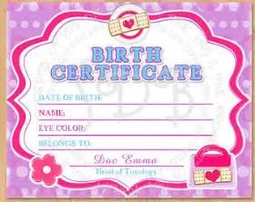 birth certificate etsy