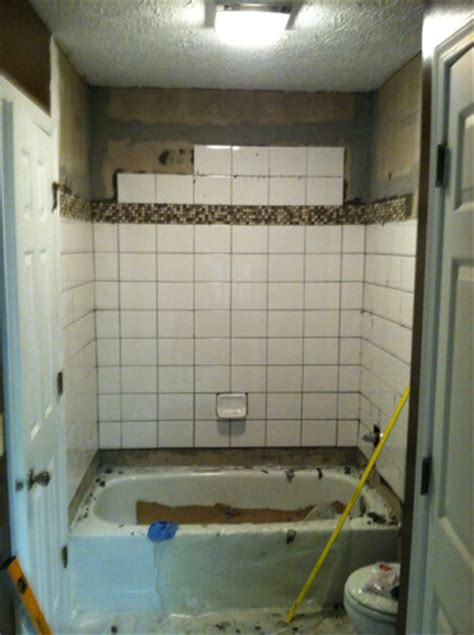 Retile Bathroom Shower Retiling A Shower Planitdiy