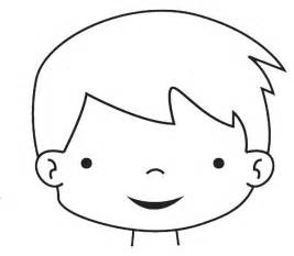 dibujo de la cara de un ni 241 o para imprimir y colorear
