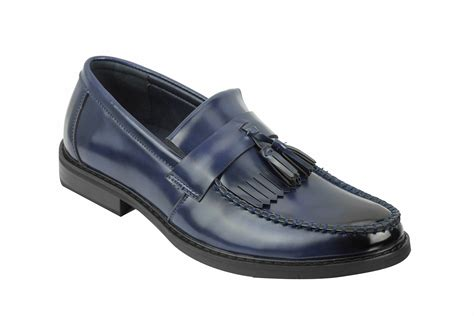 vintage mens loafers mens vintage polished leather tassel loafers retro mod