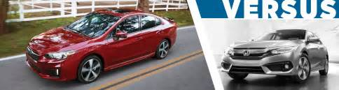 Capitol Subaru Salem 2017 Subaru Impreza 4dr Vs Honda Civic Models Model