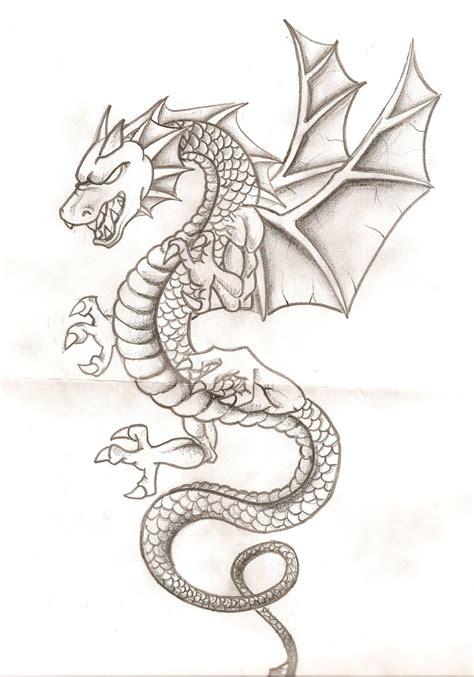 dibujos realistas para colorear dibujos de dragones chidos a l 225 piz dibujos chidos