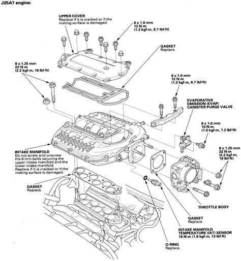 1999 daewoo nubira head bolt removal diagram repair guides engine mechanical components intake manifold autozone com