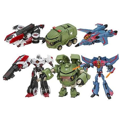 Gw 244 A B D E Transformer Cars transformers animated voyager figures wave 1 revision 1 hasbro transformers transformers