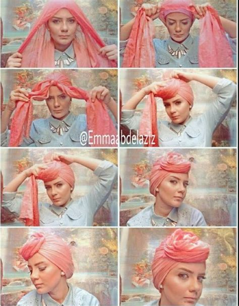 tutorial hijab utk ke kantor 89 best images about hair wrap art style on pinterest