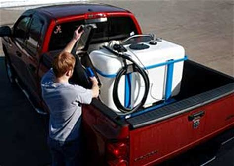 Truck Bed Gas Storage by Truck Bed Tank And Dispenser System Kleerblue Solutions
