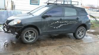 Lifted Pontiac Vibe Creating The Matrix Lift Suspension Brake 03 08