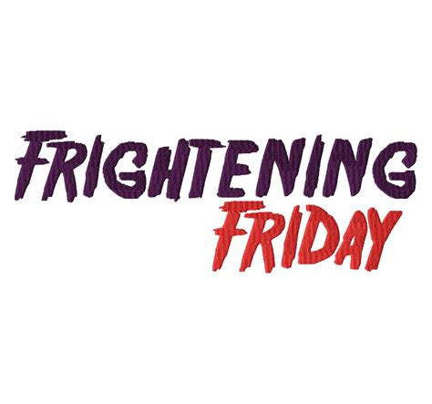 Exclusive Kitchen Designs Frightening Friday Machine Embroidery Font Set For Gold