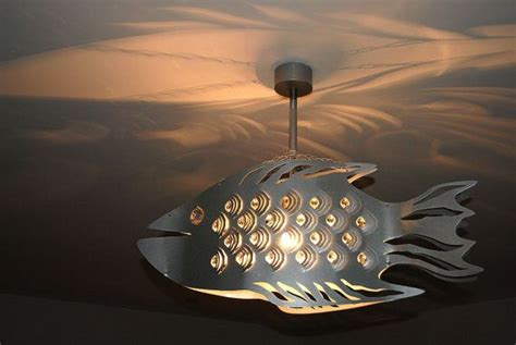 Fish Ceiling Light Ceiling Light Cod Fish Unique Design Steel Ceilings Steel And Cod Fish