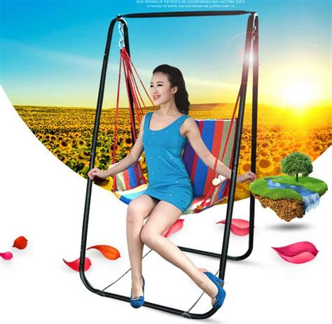 swing hot hot selling portable outdoor adult breathable comfortable