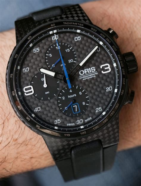 oris williams chronograph carbon valtteri bottas limited
