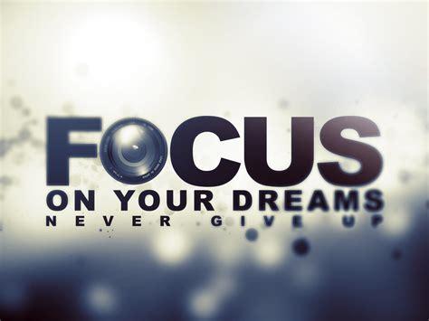 focus word wallpaper
