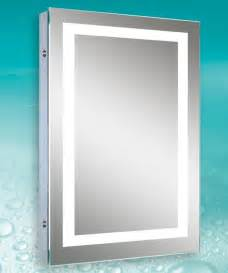 lighted mirror bathroom lighted image led bordered illuminated mirror
