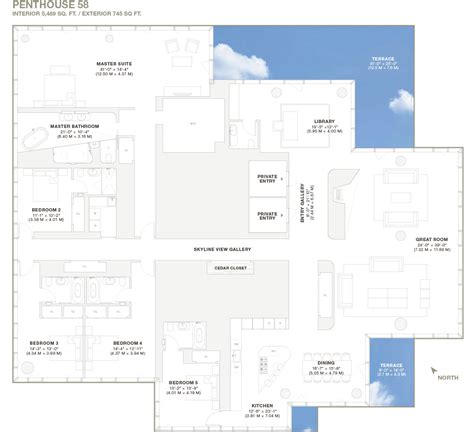 Home Plans With Elevators 56 leonard street unique design defining new york