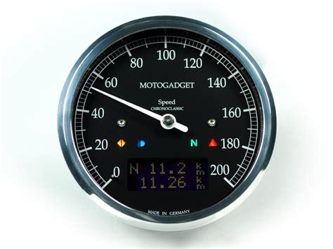 Motorrad Tacho Umbau Analog Digital by Motogadget Chronoclassic Speedometer Analog Motorcycles