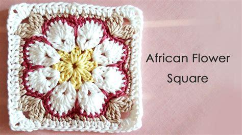 Galerry african flower crochet pattern free