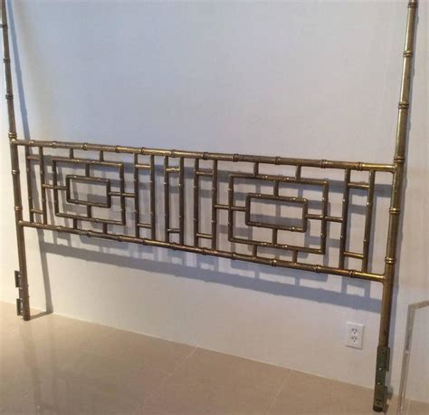 chinese chippendale headboard faux bamboo chinese chippendale vintage king size
