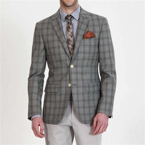 Blazer Well Black List Grey Ready grey plaid business blazer ownonly