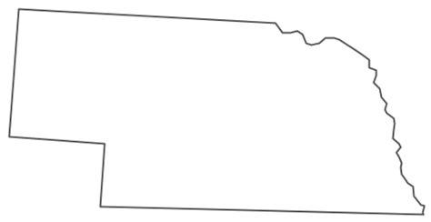 geo map usa nebraska