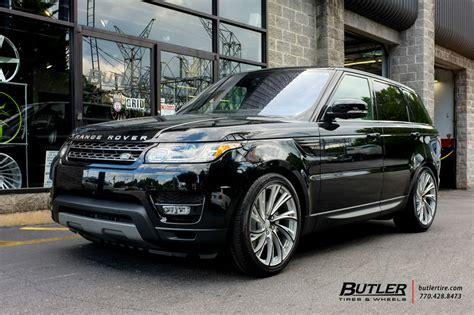 land rover range rover sport   redbourne noble wheels exclusively  butler tires