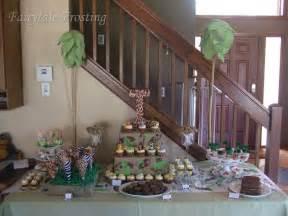 baby shower desserts jungles baby shower ideas jungle