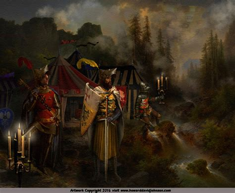 The Grail Quest king arthur the knights of the table paintings of