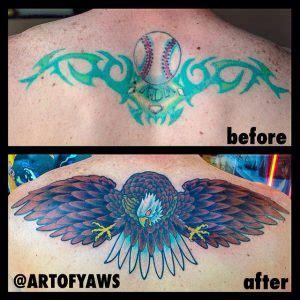 tattoo blowout fix blowout or is it still healing best